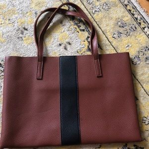 Vince Camuto Brown Leather Tote